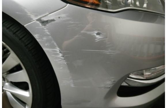 Cách xử lý các vết trầy xước cho xe ô tô