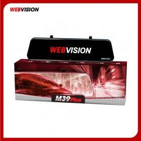 Camera Hành Trình Webvision M39 Plus – Màn Hình Gương – Ra Lệnh Bằng Giọng Nói