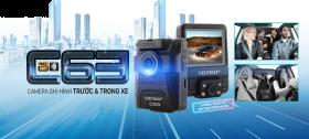 Camera Hành Trình VietMap C63 Ghi Hình Trước Và Trong Xe Full HD