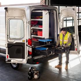 Cargo Van Storage System