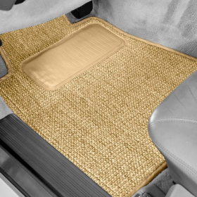 Row Beige (Tan) Floor Mats