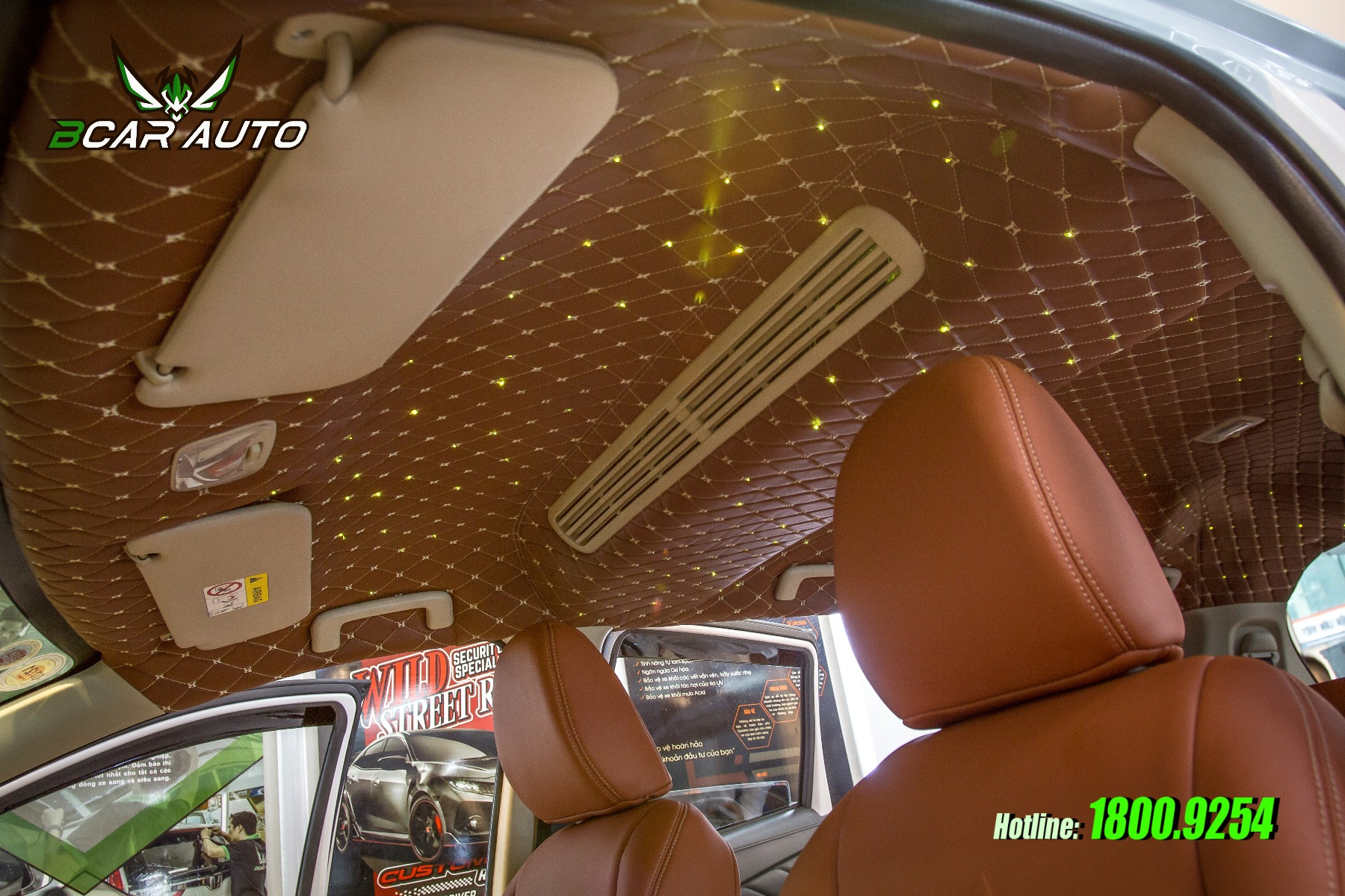 Trần ánh sao xe ô tô