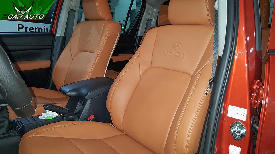 Kiểu may ghế da ô tô nguyên bản